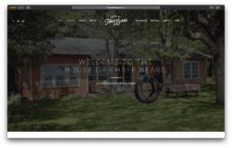 House of Three Bears Website