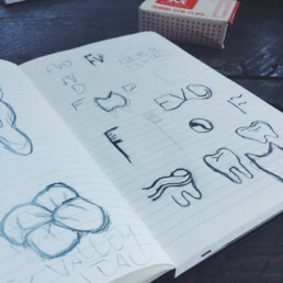 Fox Valley Dental Logo Design Sketches