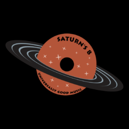 Saturn's 8 DJ Services Logo