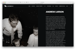 Andrew Larson DJ Servies Madison Bio